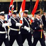 remembrance day marching