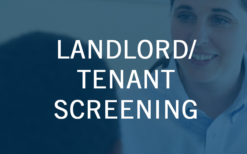 Landlord Tenant Screening