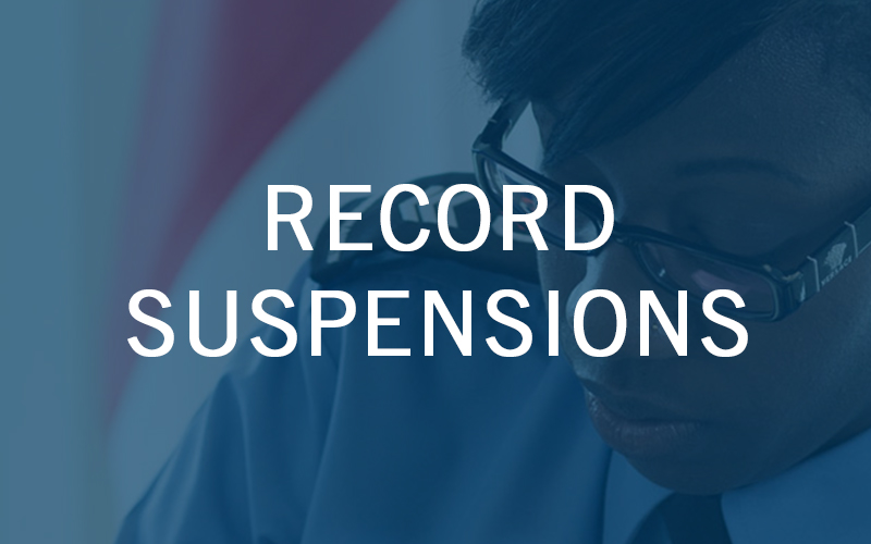 Record Suspensions Pardons