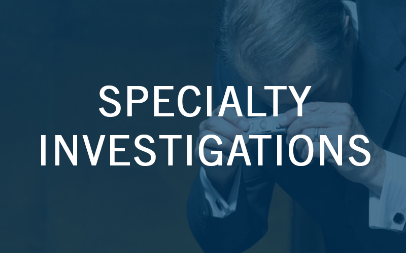 Specialty Investigations