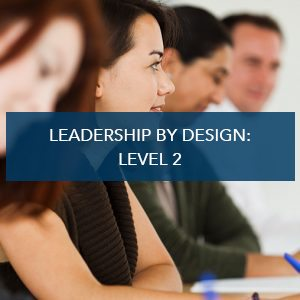 Leadership By Design: Level 2