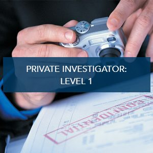 Private Investigator: Level 1